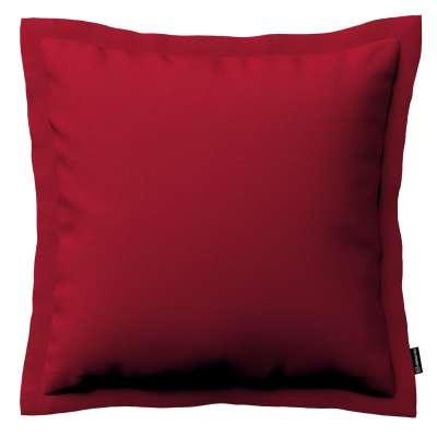 Mona dekoratyvinių pagalvėlių užvalkalas su sienele 705-60 raudona Kolekcija Etna