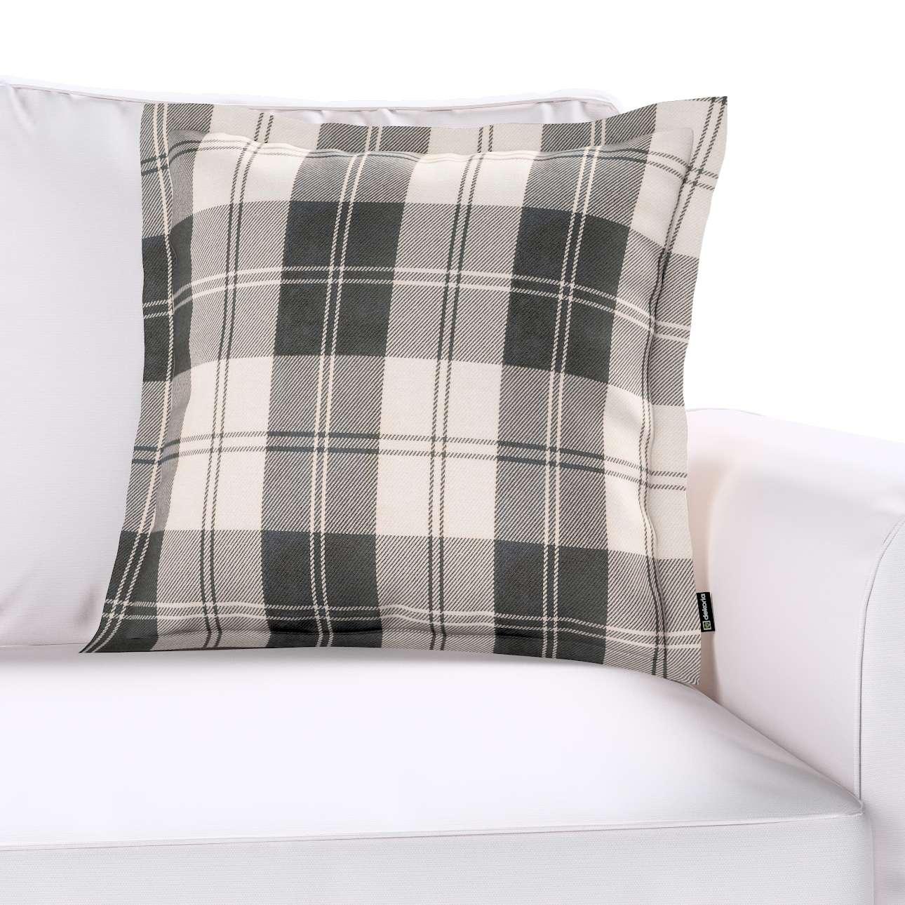 kissenh lle mona mit stehsaum schwarz weiss dekoria. Black Bedroom Furniture Sets. Home Design Ideas