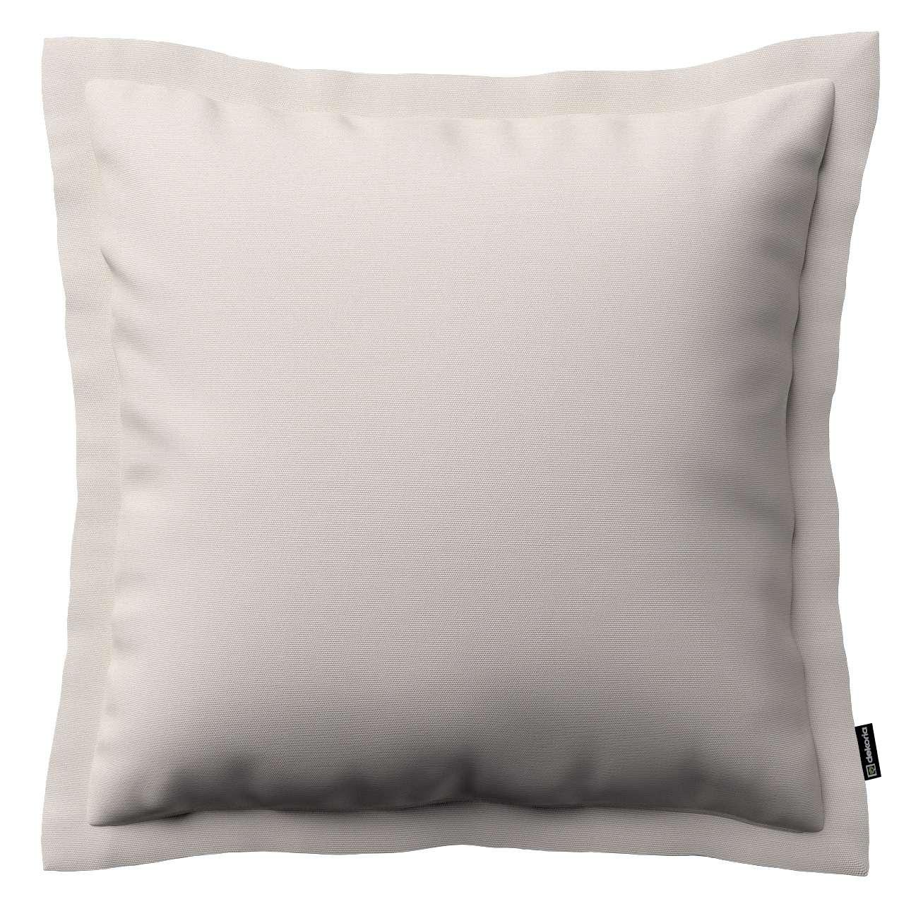 Mona dekoratyvinių pagalvėlių užvalkalas su sienele 45 x 45cm kolekcijoje Cotton Panama, audinys: 702-31
