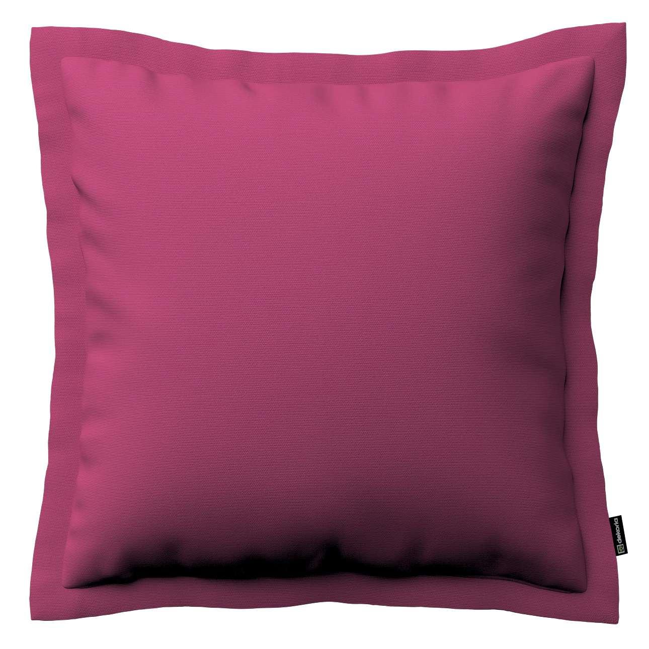 Mona dekoratyvinių pagalvėlių užvalkalas su sienele 45 x 45cm kolekcijoje Cotton Panama, audinys: 702-32