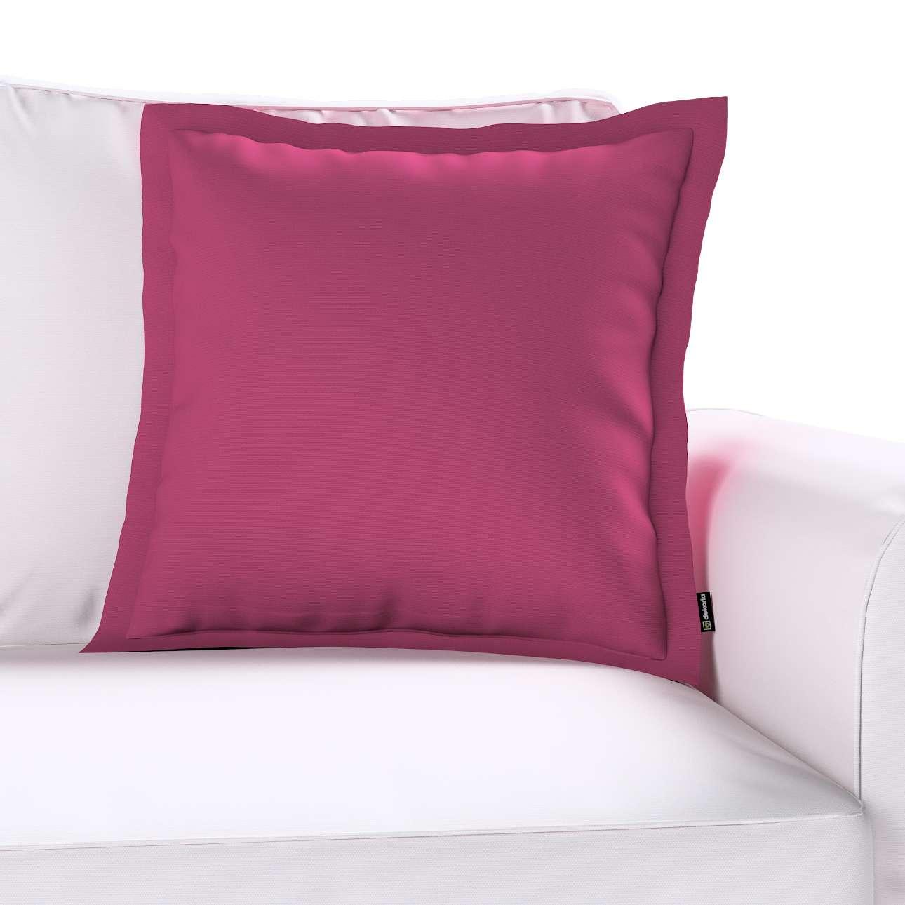 Poszewka Mona na poduszkę 45x45 cm w kolekcji Cotton Panama, tkanina: 702-32