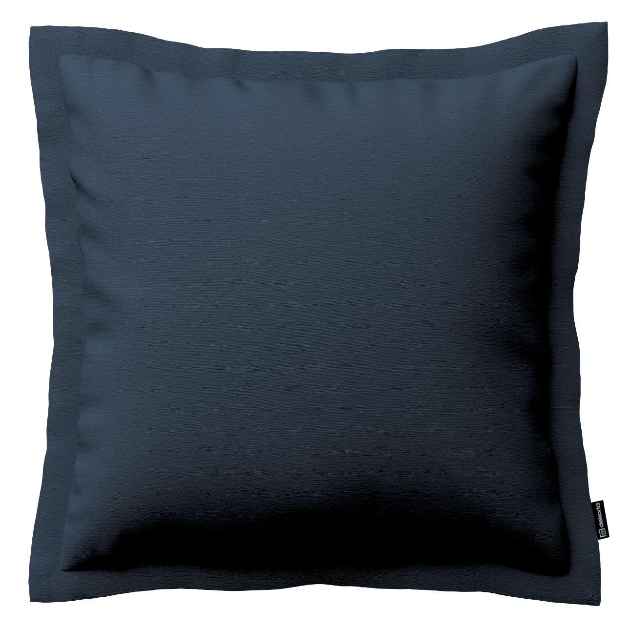 Mona dekoratyvinių pagalvėlių užvalkalas su sienele 45 x 45cm kolekcijoje Quadro, audinys: 136-04