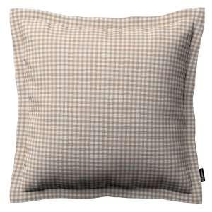Mona dekoratyvinių pagalvėlių užvalkalas su sienele 38 x 38 cm kolekcijoje Quadro, audinys: 136-05