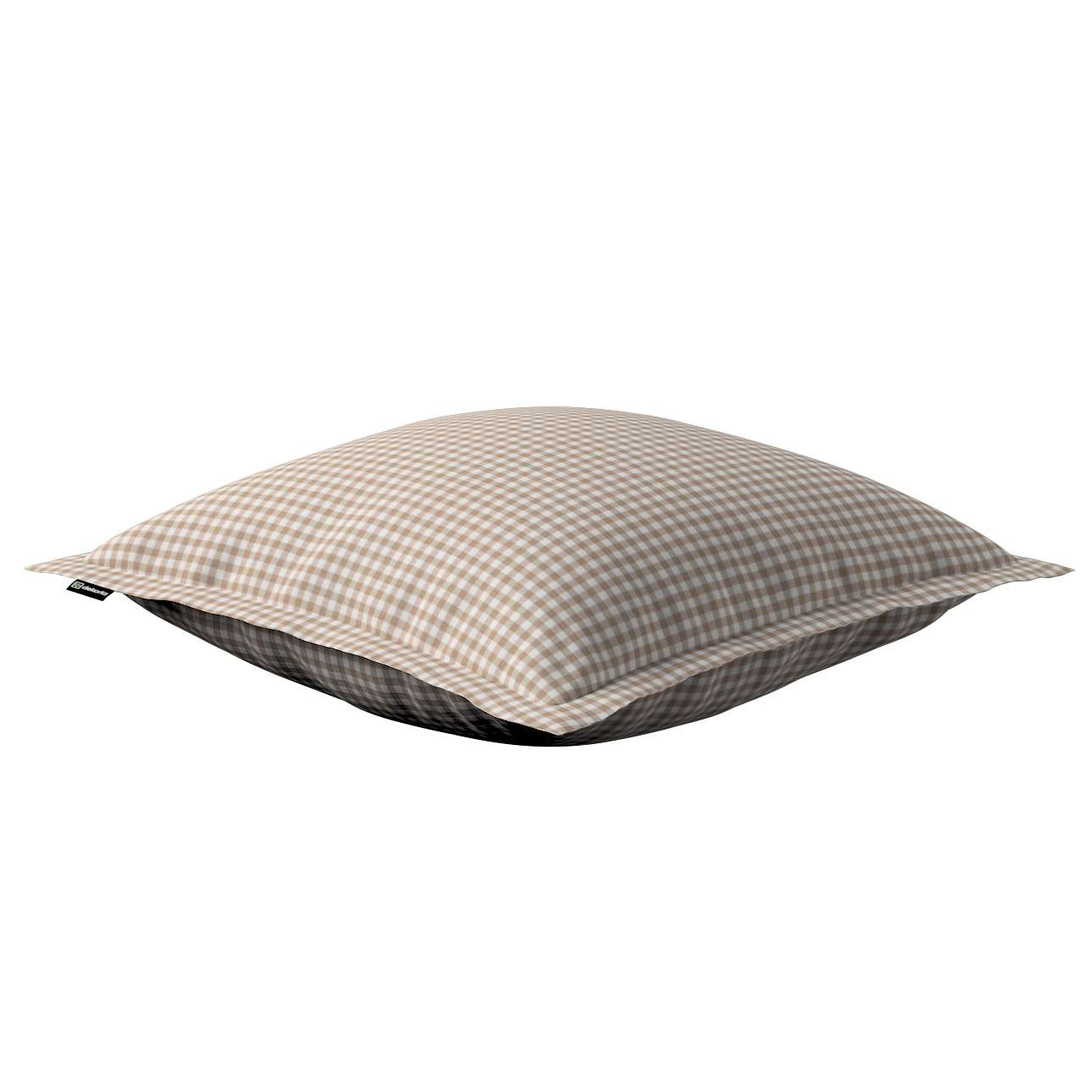 Mona dekoratyvinių pagalvėlių užvalkalas su sienele 45 x 45cm kolekcijoje Quadro, audinys: 136-05