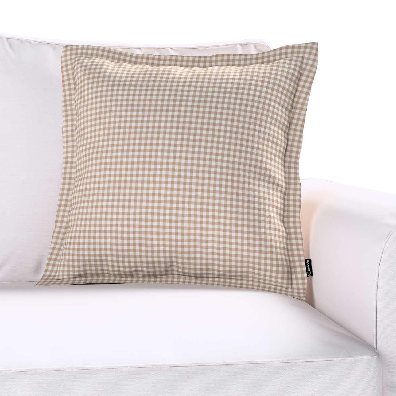 Poszewka Mona na poduszkę w kolekcji Quadro, tkanina: 136-05