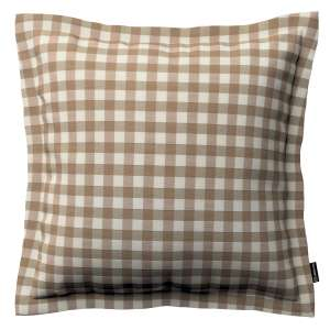 Mona dekoratyvinių pagalvėlių užvalkalas su sienele 45 x 45cm kolekcijoje Quadro, audinys: 136-06