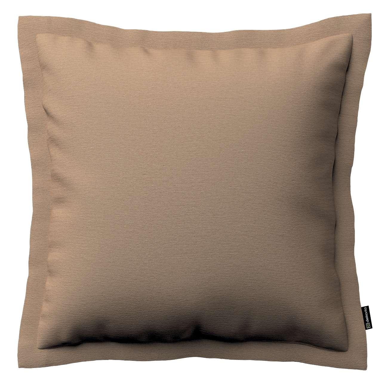 Mona dekoratyvinių pagalvėlių užvalkalas su sienele 38 x 38 cm kolekcijoje Quadro, audinys: 136-09