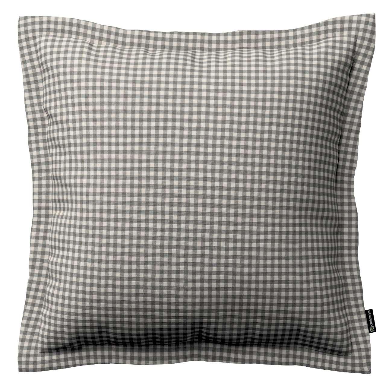 Mona dekoratyvinių pagalvėlių užvalkalas su sienele 38 x 38 cm kolekcijoje Quadro, audinys: 136-10