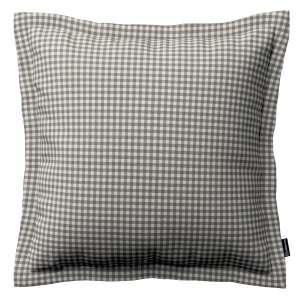 Mona dekoratyvinių pagalvėlių užvalkalas su sienele 45 x 45cm kolekcijoje Quadro, audinys: 136-10