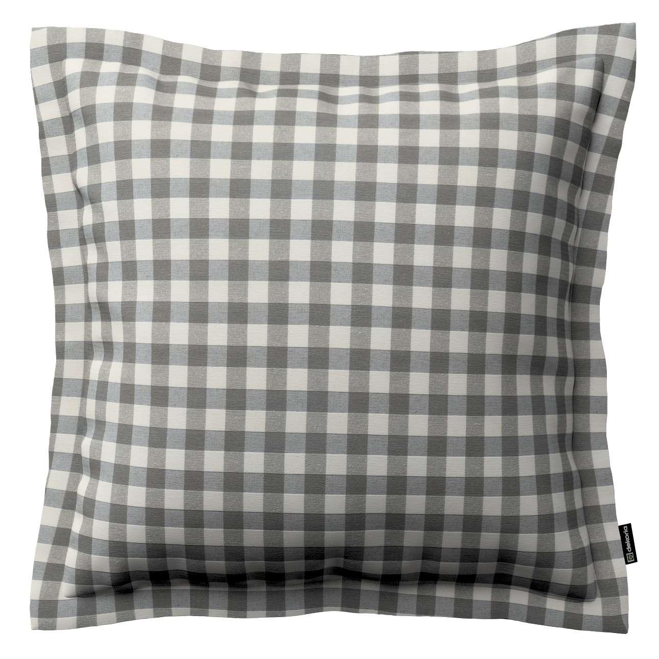 Mona dekoratyvinių pagalvėlių užvalkalas su sienele 45 x 45cm kolekcijoje Quadro, audinys: 136-11