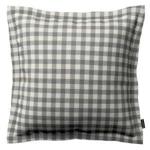 Mona dekoratyvinių pagalvėlių užvalkalas su sienele 38 x 38 cm kolekcijoje Quadro, audinys: 136-11