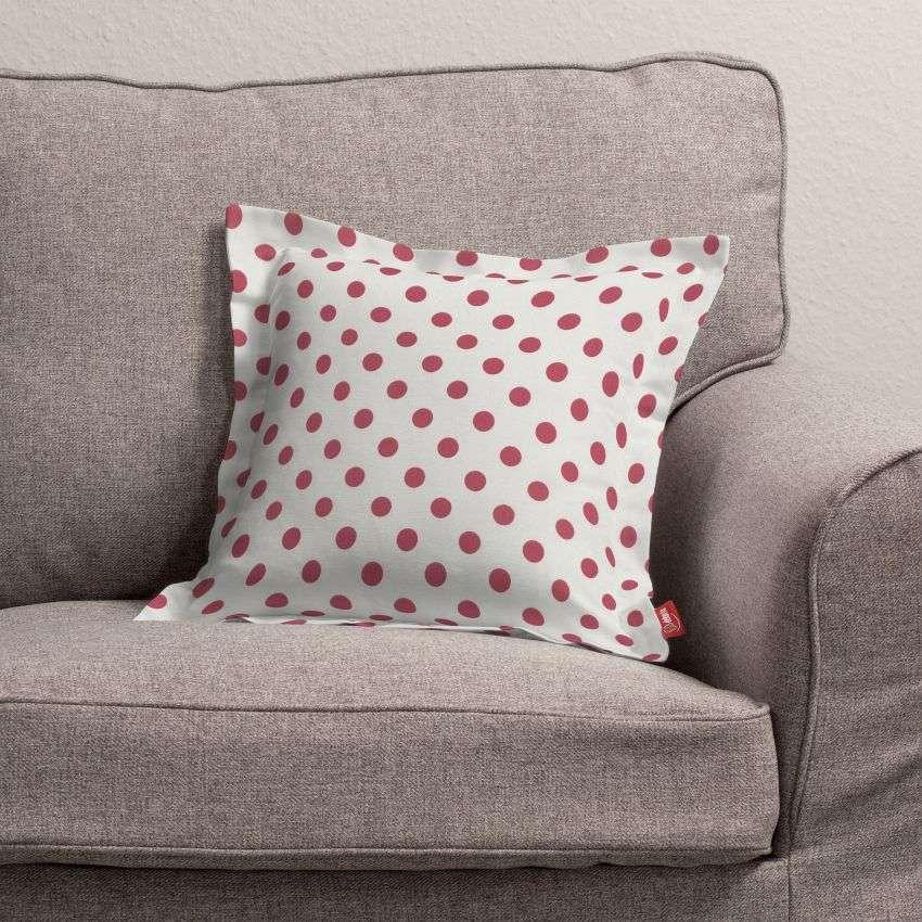 Mona dekoratyvinių pagalvėlių užvalkalas su sienele 38 x 38 cm kolekcijoje Ashley , audinys: 137-70