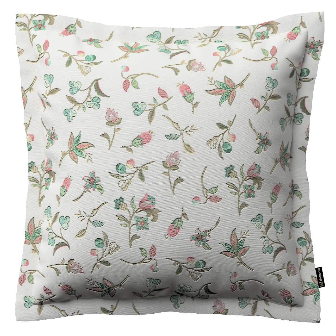 Mona dekoratyvinių pagalvėlių užvalkalas su sienele 38 x 38 cm kolekcijoje Londres, audinys: 122-02
