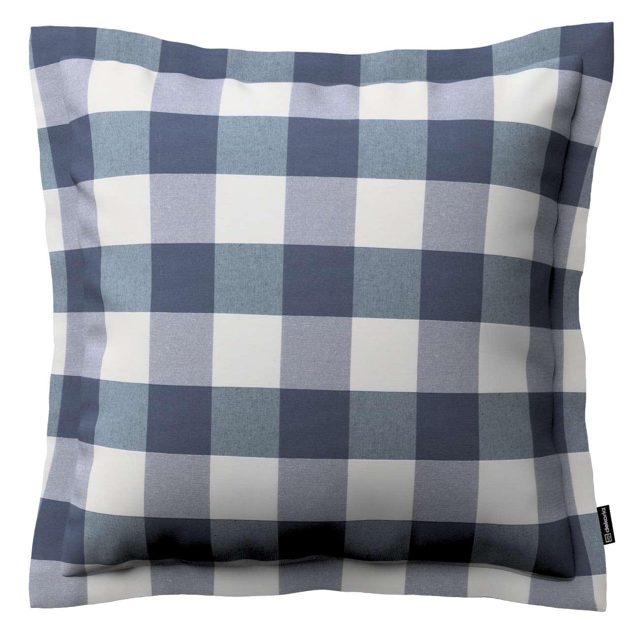 Mona dekoratyvinių pagalvėlių užvalkalas su sienele 38 x 38 cm kolekcijoje Quadro, audinys: 136-03