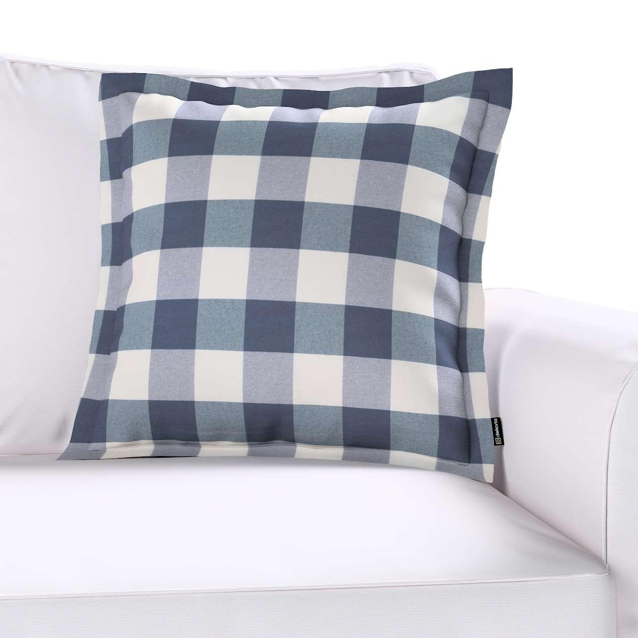 Poszewka Mona na poduszkę w kolekcji Quadro, tkanina: 136-03