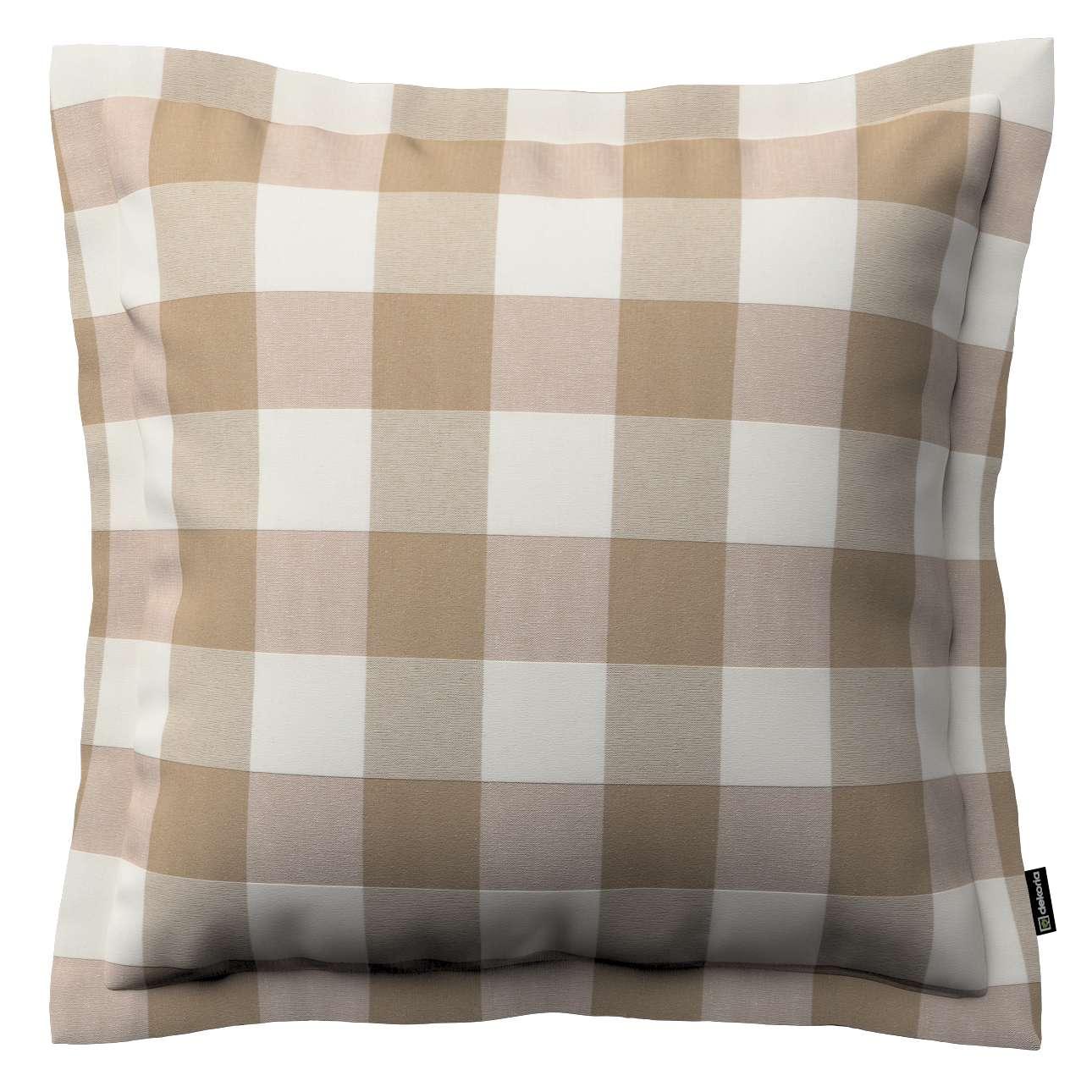 Poszewka Mona na poduszkę 38x38 cm w kolekcji Quadro, tkanina: 136-08