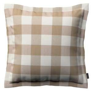 Mona dekoratyvinių pagalvėlių užvalkalas su sienele 45 x 45cm kolekcijoje Quadro, audinys: 136-08