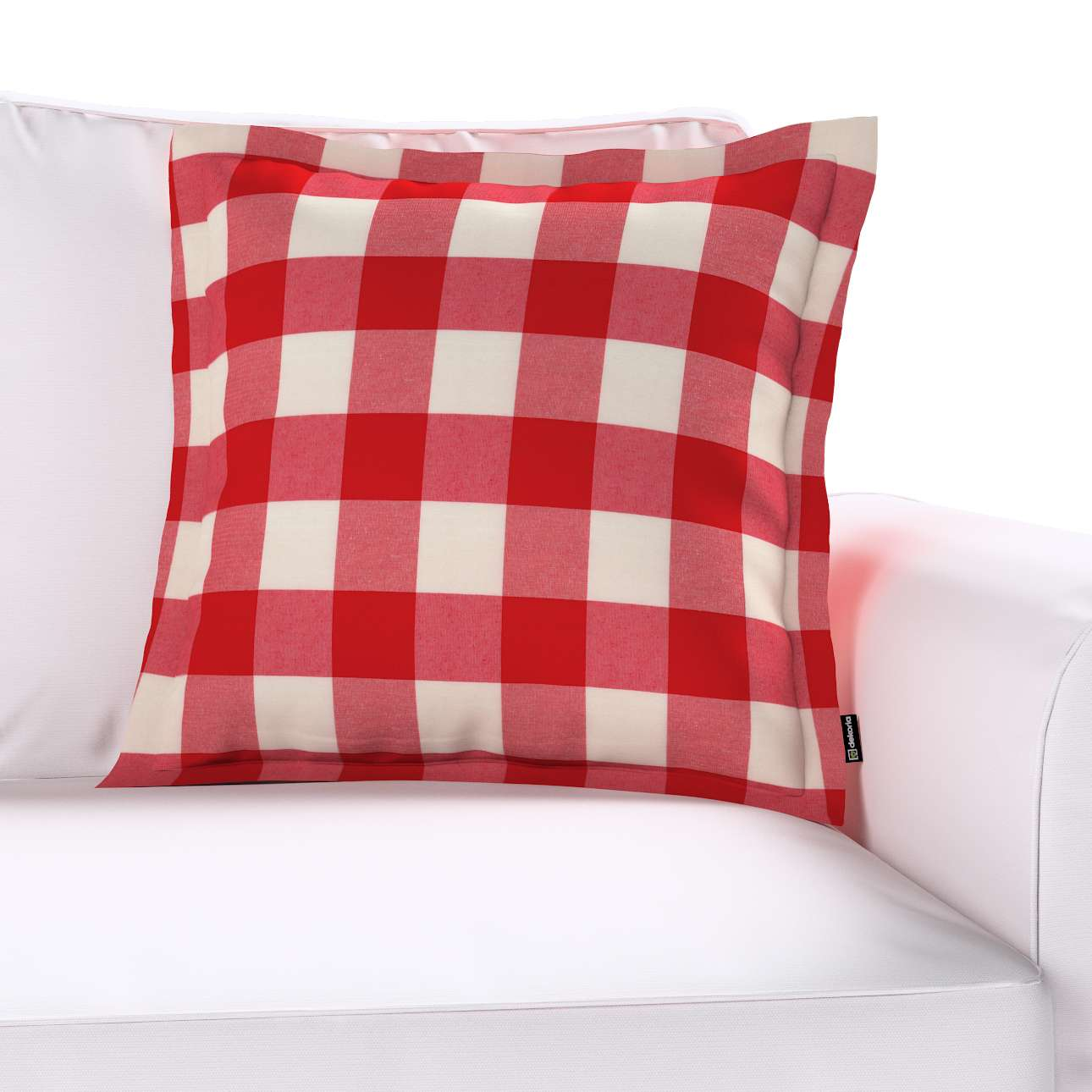 Poszewka Mona na poduszkę 45x45 cm w kolekcji Quadro, tkanina: 136-18