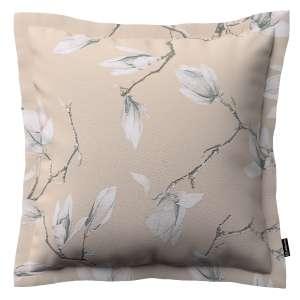 Mona dekoratyvinių pagalvėlių užvalkalas su sienele 45 x 45cm kolekcijoje Flowers, audinys: 311-12