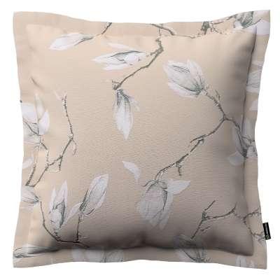 Poszewka Mona na poduszkę 311-12 magnolie na beżowym tle Kolekcja Flowers