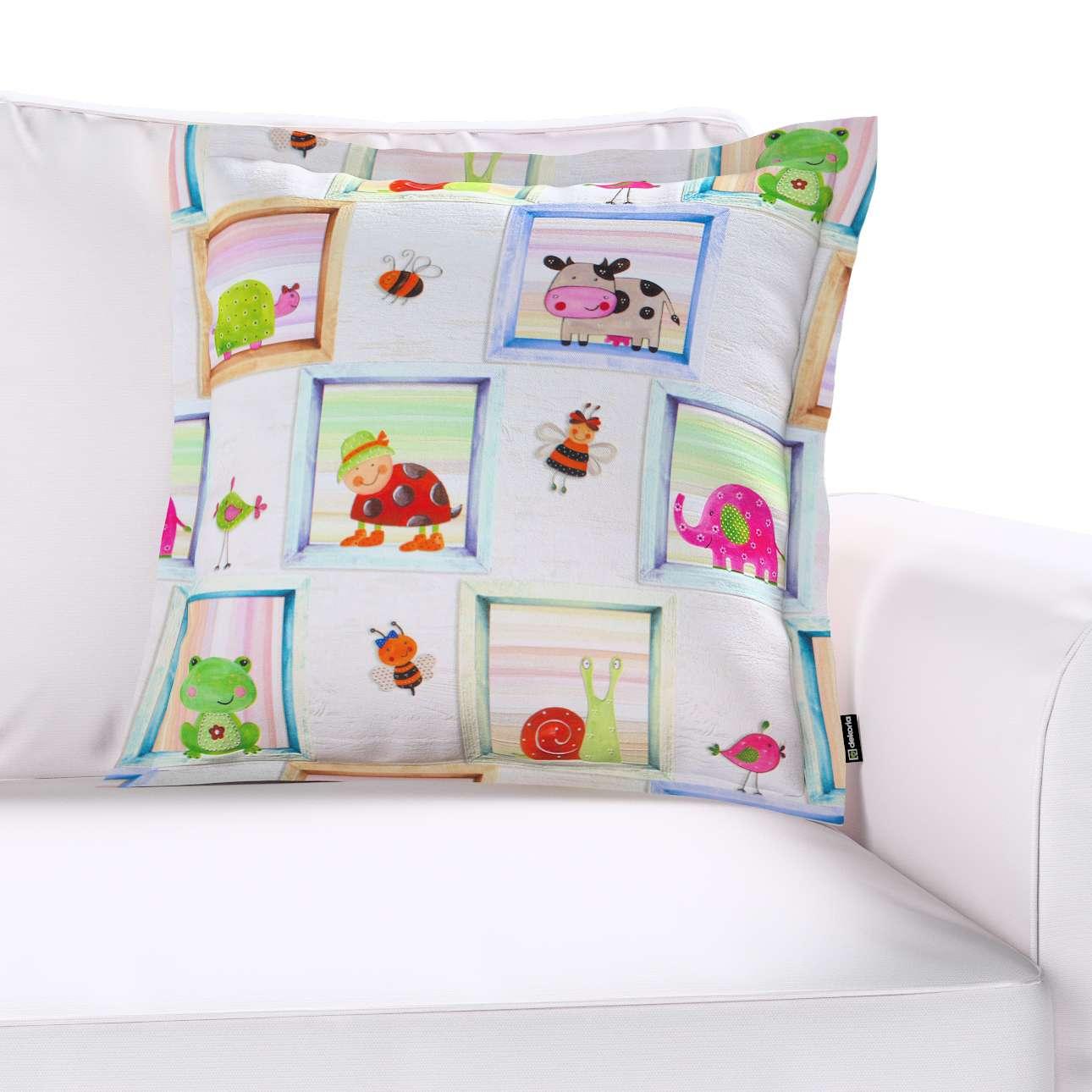 Poszewka Mona na poduszkę 45x45 cm w kolekcji Apanona do -30%, tkanina: 151-04