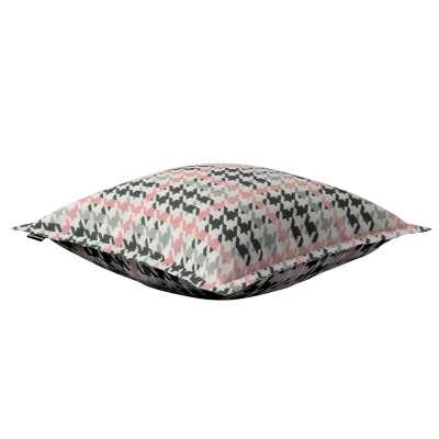 Mona dekoratyvinių pagalvėlių užvalkalas su sienele 137-75 Juoda, pilka, šviesi, pastelinė rausva Kolekcija NUOLAIDOS