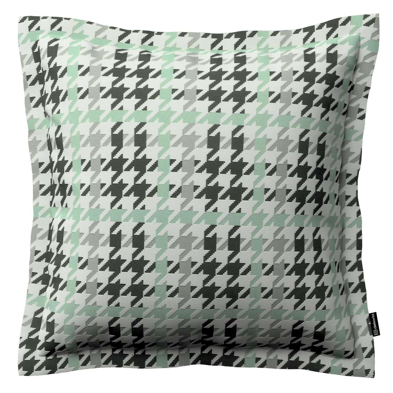 Mona dekoratyvinių pagalvėlių užvalkalas su sienele 45 x 45cm kolekcijoje Brooklyn, audinys: 137-77