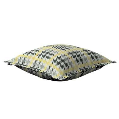 Mona dekoratyvinių pagalvėlių užvalkalas su sienele 137-79 Juoda, pilka, šviesi, geltona Kolekcija NUOLAIDOS