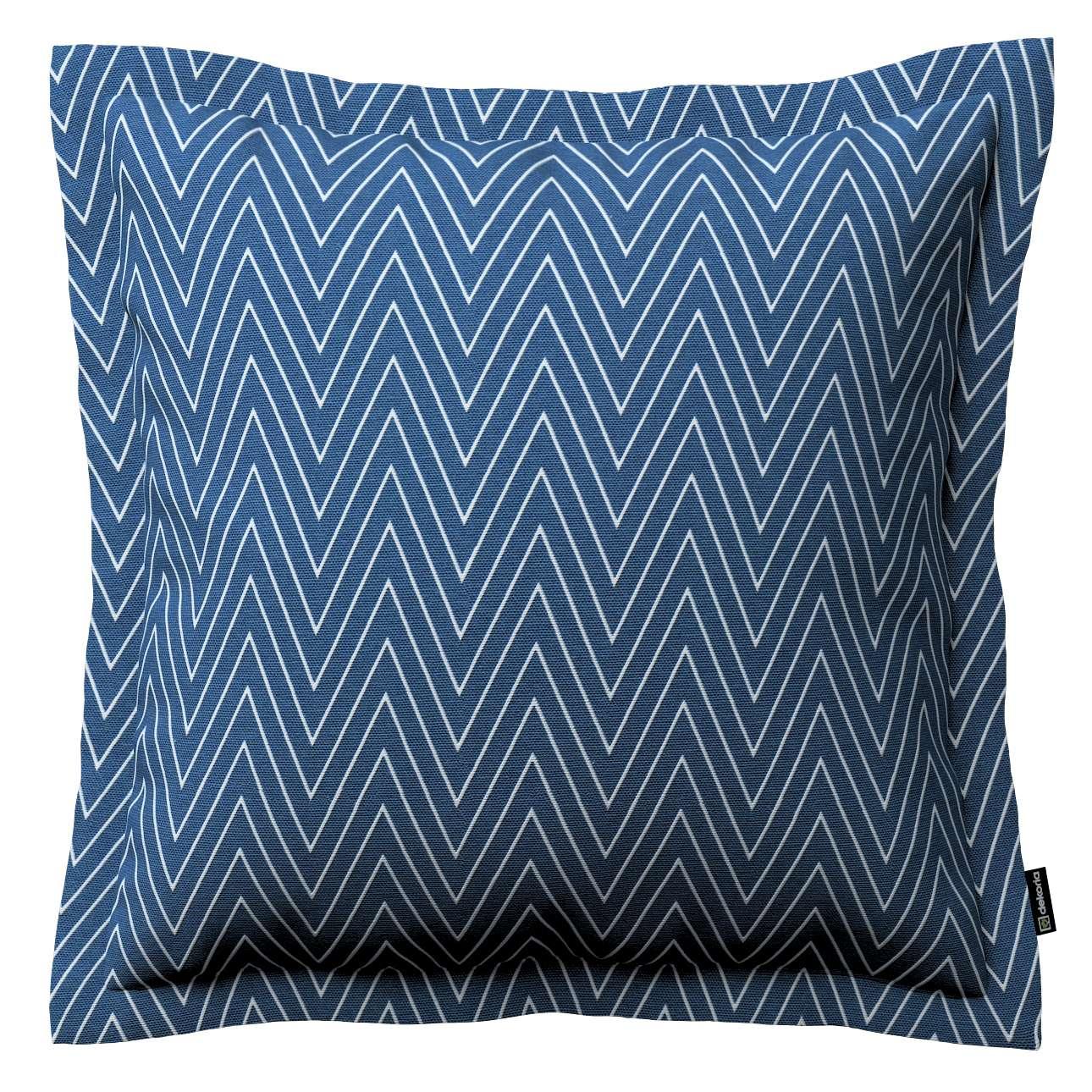 Mona dekoratyvinių pagalvėlių užvalkalas su sienele 45 x 45cm kolekcijoje Brooklyn, audinys: 137-88