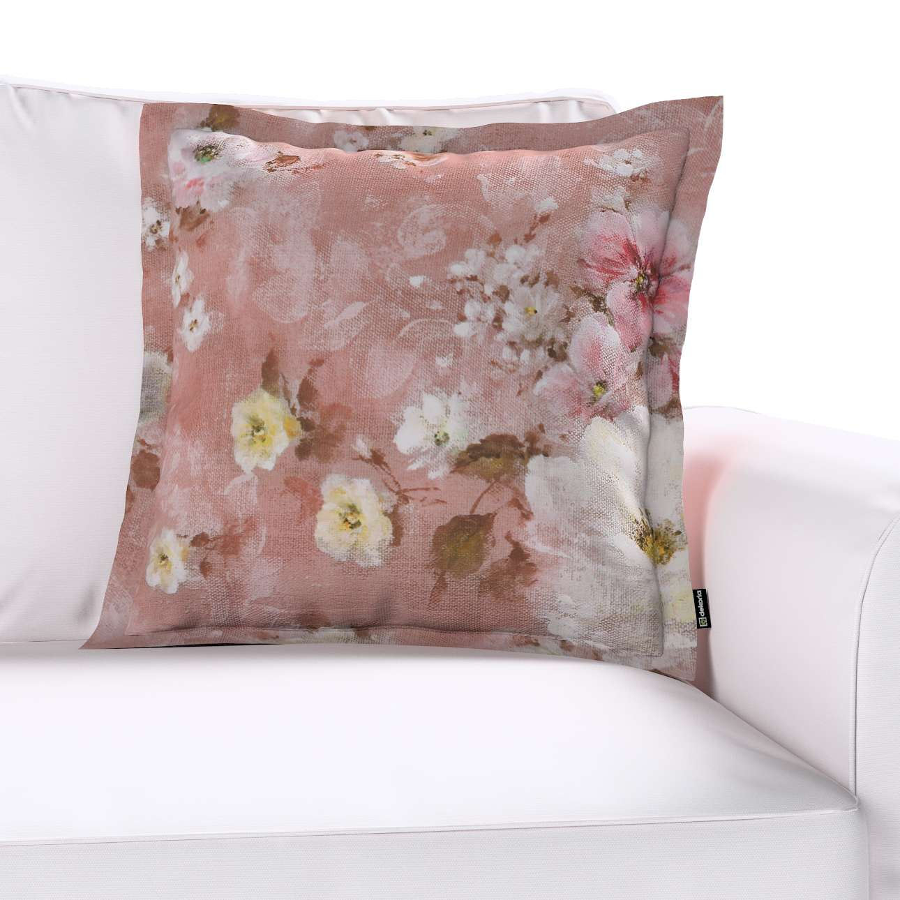 Poszewka Mona na poduszkę w kolekcji Monet, tkanina: 137-83