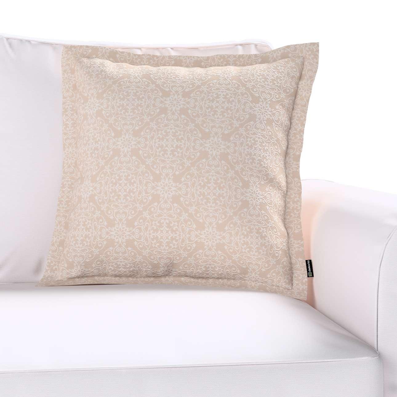 Mona dekoratyvinių pagalvėlių užvalkalas su sienele 45 × 45 cm kolekcijoje Flowers, audinys: 140-39