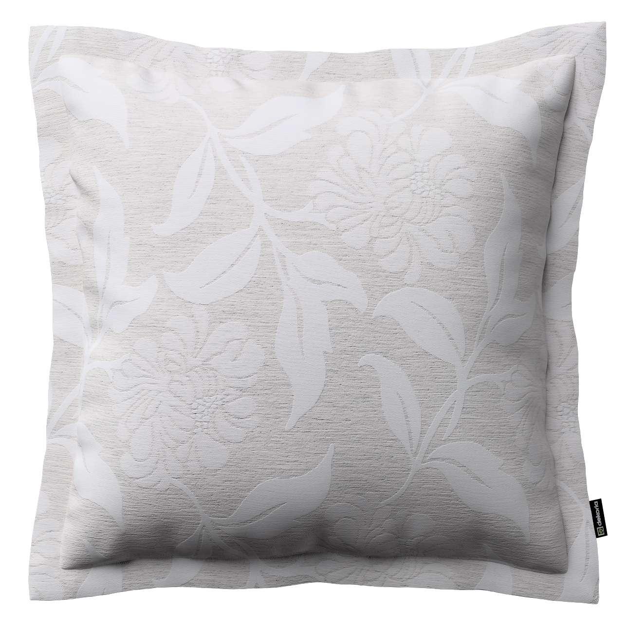 Mona dekoratyvinių pagalvėlių užvalkalas su sienele 45 x 45cm kolekcijoje Venice, audinys: 140-51