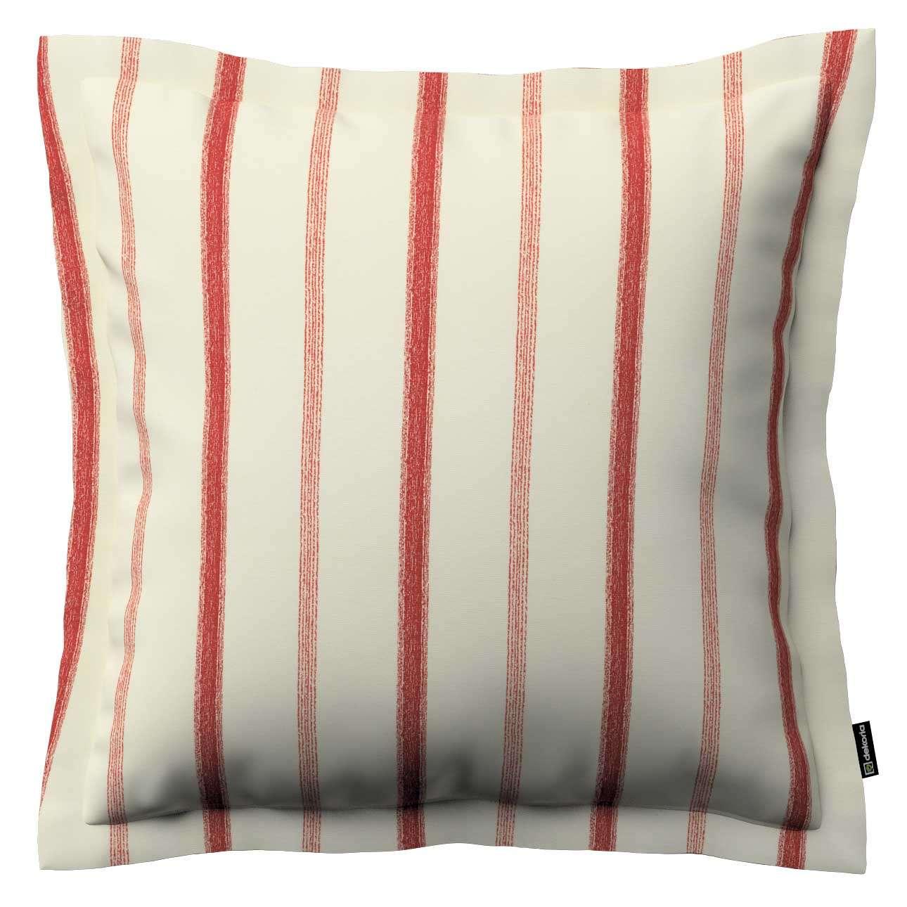 Mona dekoratyvinių pagalvėlių užvalkalas su sienele 45 x 45cm kolekcijoje Avinon, audinys: 129-15