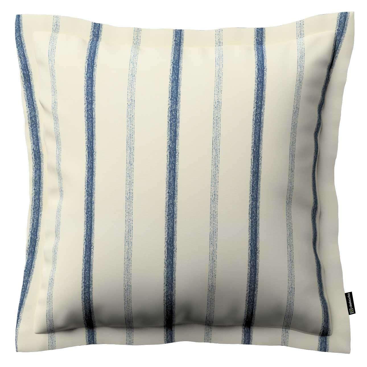 Mona dekoratyvinių pagalvėlių užvalkalas su sienele 38 x 38 cm kolekcijoje Avinon, audinys: 129-66