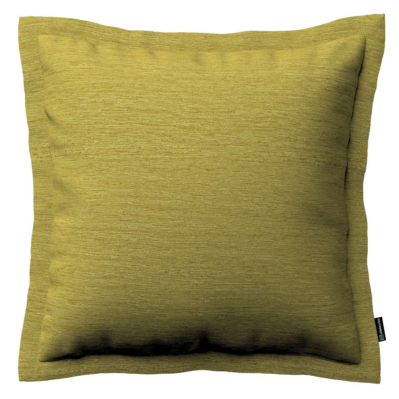 Mona cushion cover with border in collection Chenille, fabric: 160-47