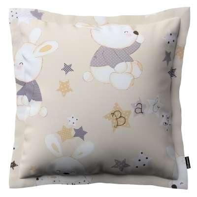 Poszewka Mona na poduszkę 141-85 króliczki na kremowym tle Kolekcja Adventure