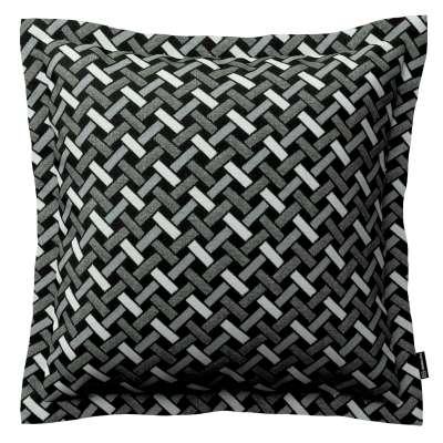 Poszewka Mona na poduszkę 142-87 czarno-biały Kolekcja Black & White