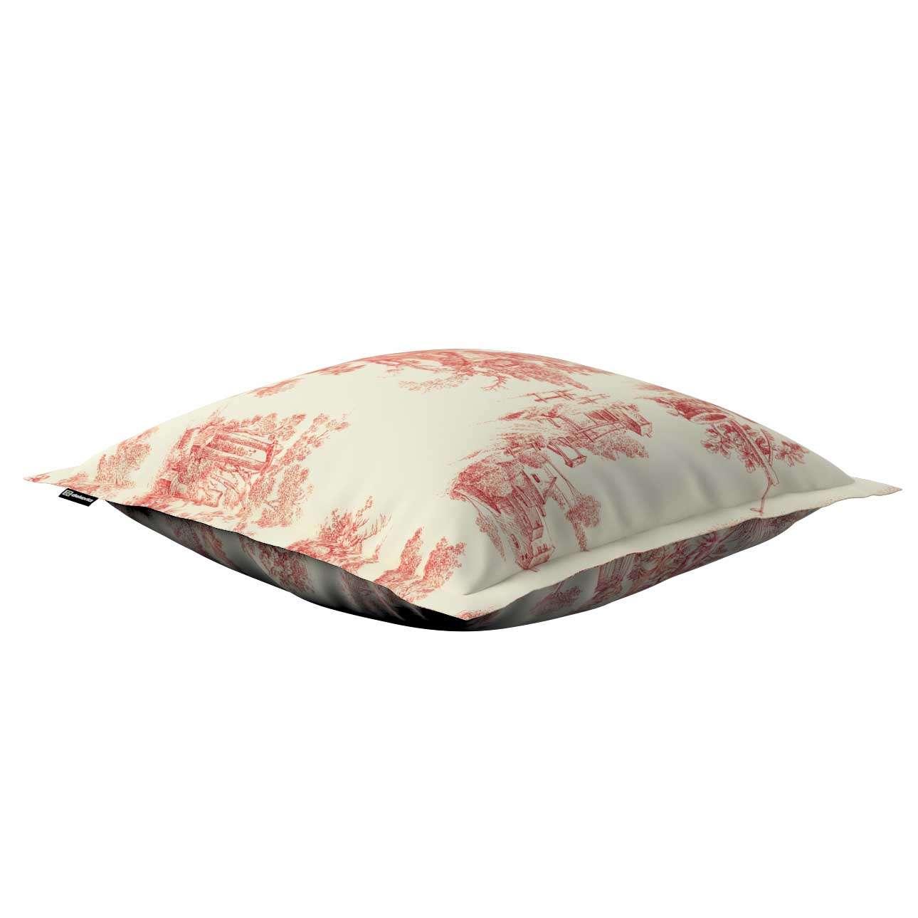 Poszewka Mona na poduszkę 38x38 cm w kolekcji Avinon, tkanina: 132-15