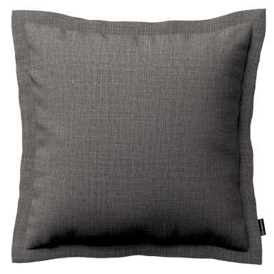 Poszewka Mona na poduszkę 161-16 ciemno szary Kolekcja Living II