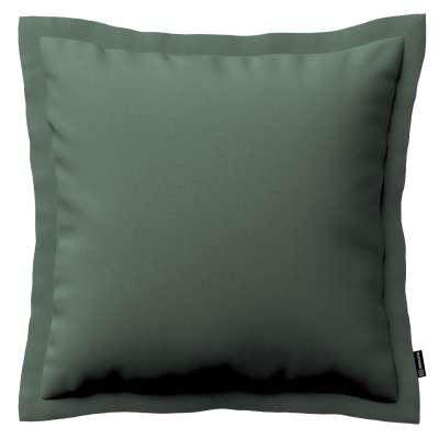 Mona dekoratyvinių pagalvėlių užvalkalas su sienele 159-08 žalia alyvuogių Kolekcija Linen