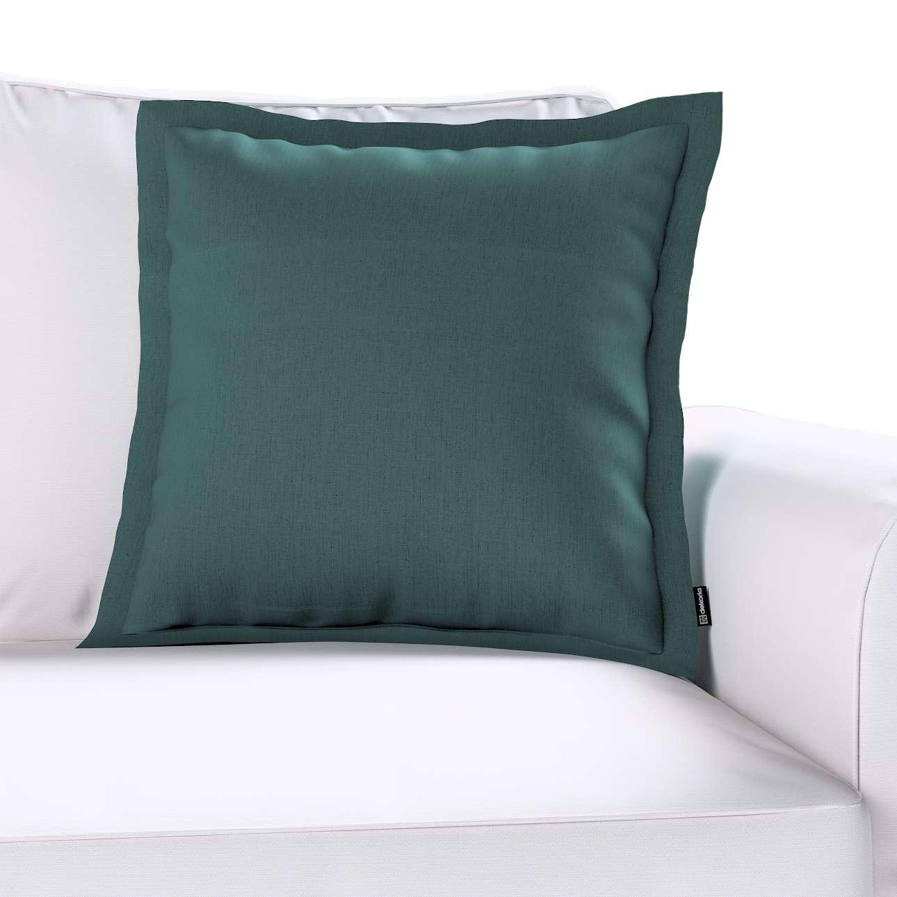 Poszewka Mona na poduszkę w kolekcji Linen, tkanina: 159-09