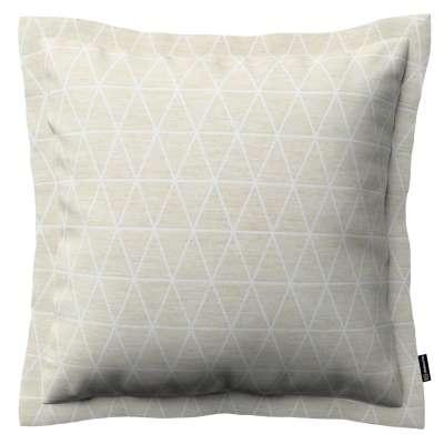 Mona dekoratyvinių pagalvėlių užvalkalas su sienele 143-49 smėlio/lino fonas Kolekcija Sunny