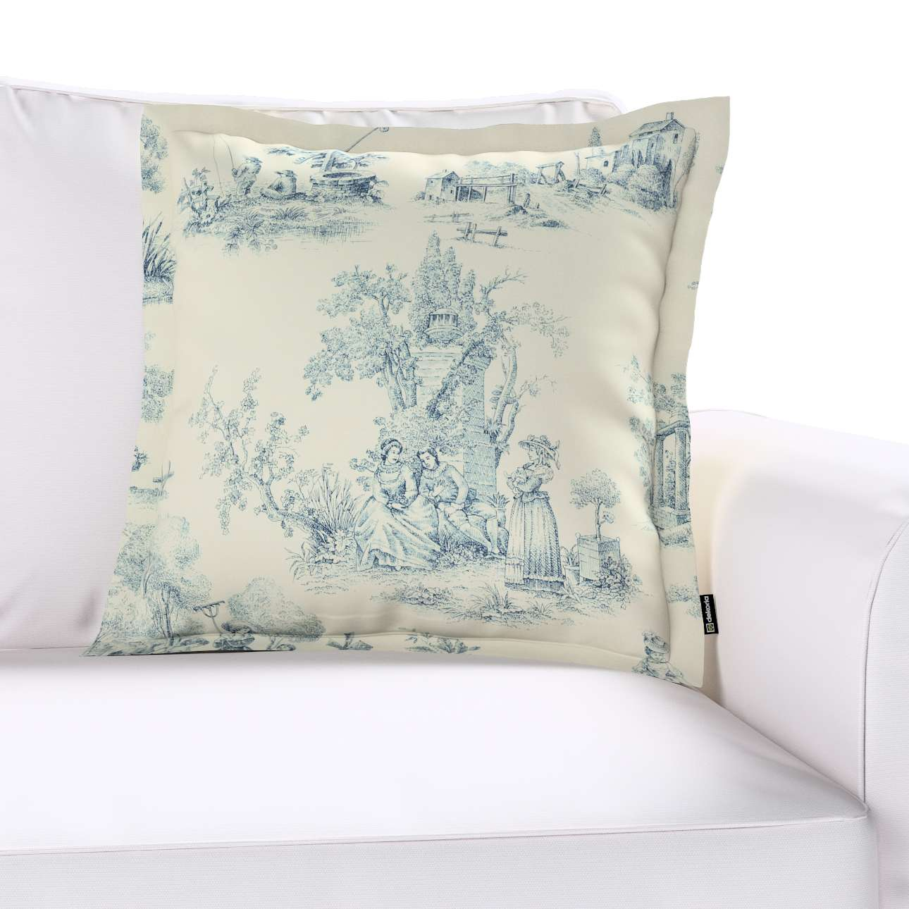 Poszewka Mona na poduszkę w kolekcji Avinon, tkanina: 132-66