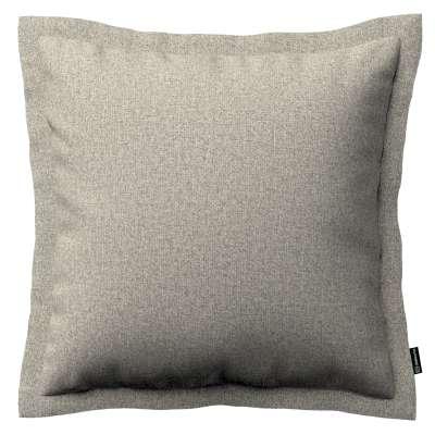 Poszewka Mona na poduszkę 161-23 szaro-beżowy melanż Kolekcja Madrid