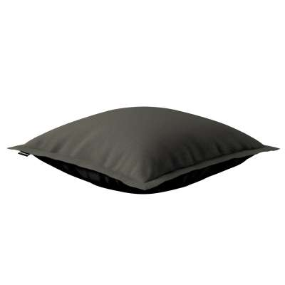 Poszewka Mona na poduszkę 161-55 ciemny szary Kolekcja Living