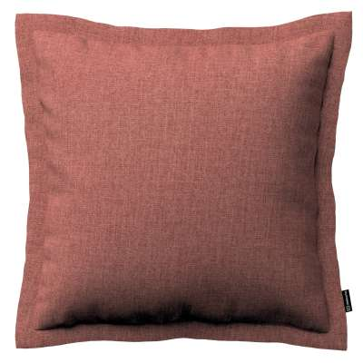 Mona cushion cover with border 704-84 brown-cognac Collection City