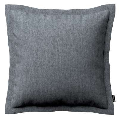 Mona cushion cover with border 704-86 graphite - gray Collection City