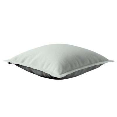 Mona - potah na polštář hladký lem po obvodu 161-41 šedý pletenec Kolekce Living