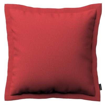 Mona - potah na polštář hladký lem po obvodu 161-56 červená Kolekce Living
