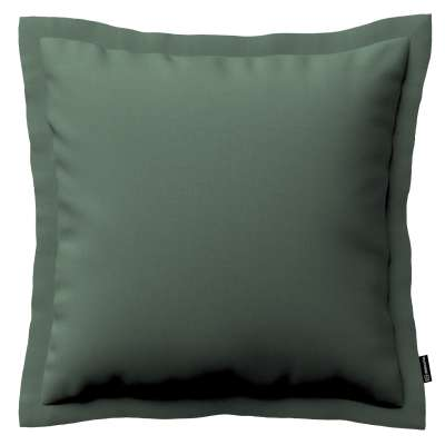 Mona cushion cover with border 159-08 subdued green Collection Christmas